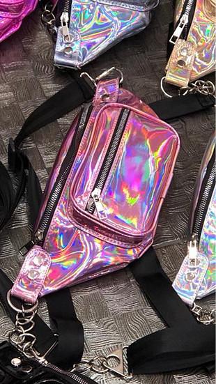 Zara Holoğram çanta