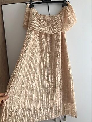Güpür elbise