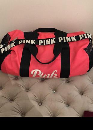 Pink çanta