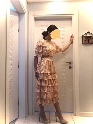 İki parça elbise