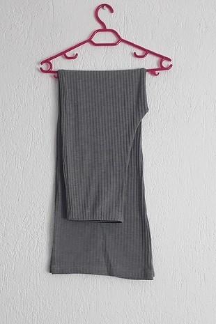 ispanyol rahat gri günlük pantolon