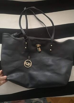 Bcbg siyah deri çanta