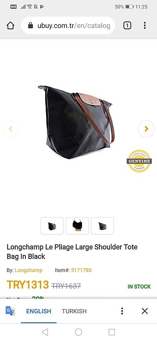 Longchamp Longchamp çanta