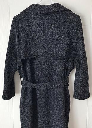 s Beden siyah Renk Siyah beyaz cepli dış giysisi