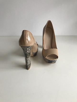 Bellini Deri Topuklu Ayakkabı