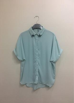 İpekyol kısa kollu gömlek