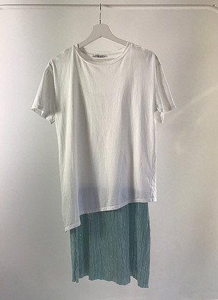 Üstü tshirt elbise