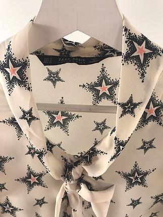 Yıldız desenli gömlek