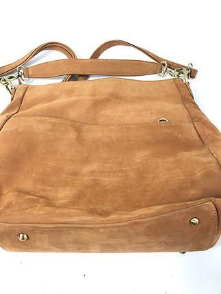 Süet çanta