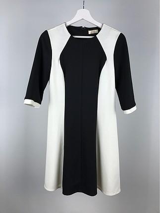 Şeritli Elbise