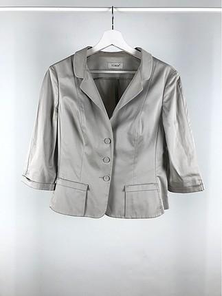 Kısa Blazer Ceket