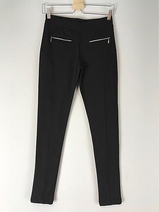 Fermuar detaylı pantolonu