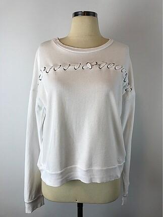 İp detaylı sweatshirt