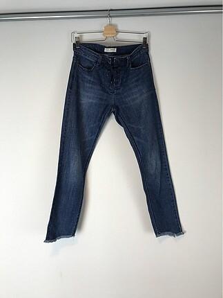 İp Detaylı Yüksek Bel Pantolon
