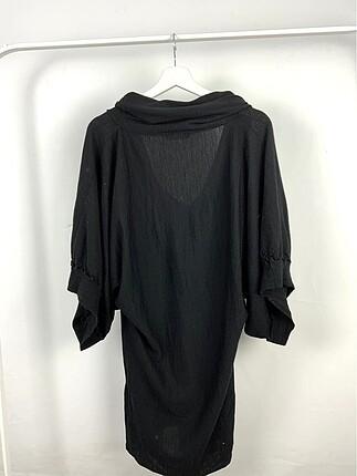 s Beden Kapüşonlu Elbise