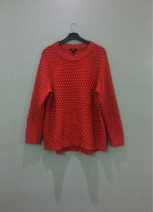 H&M kırmızı kazak