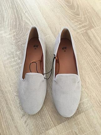 H&m gri loafer