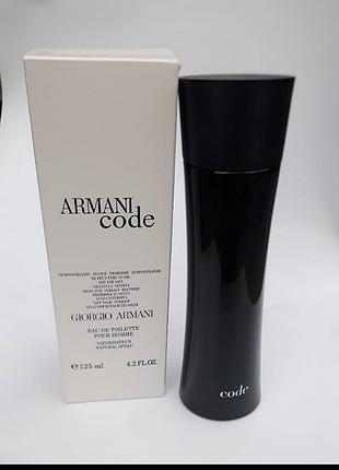 Giorgio armani code pour homme 125ml erkek tester parfüm