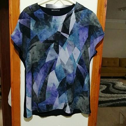Çok renkli Bluz