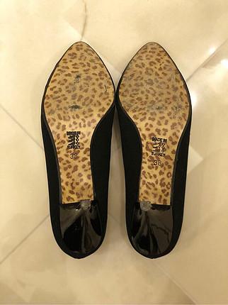 Bambi Süet Topuklu Ayakkabı
