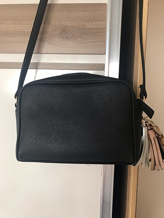 s Beden siyah Renk çanta koton