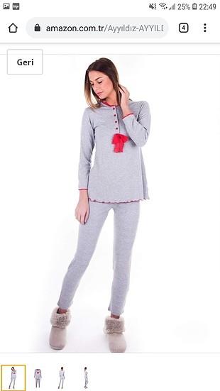 Ayyildiz pijama takimi (M beden)