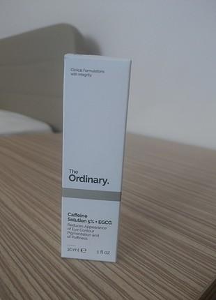 The ordinary caffeine solution 5%+ egcg