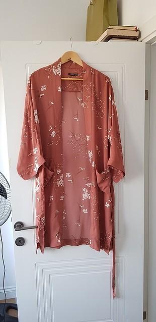 Zara somon bakır kimono