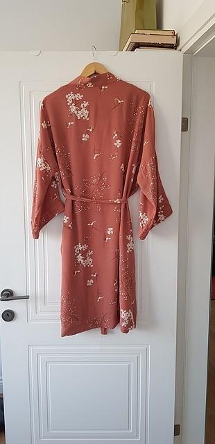 m Beden turuncu Renk somon bakır kimono