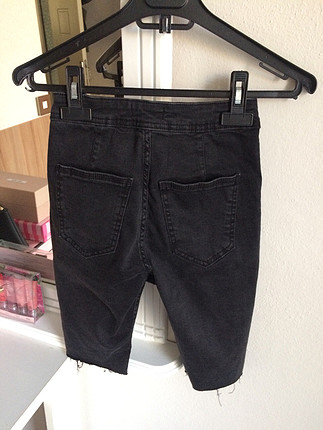 Bershka Denim biker short