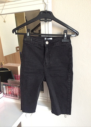 32 Beden Denim biker short