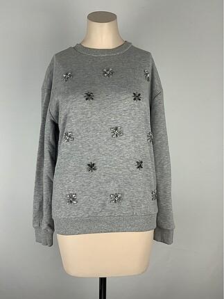 Taşlı Sweatshirt