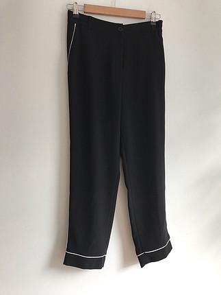 Fitil detaylı pantolon