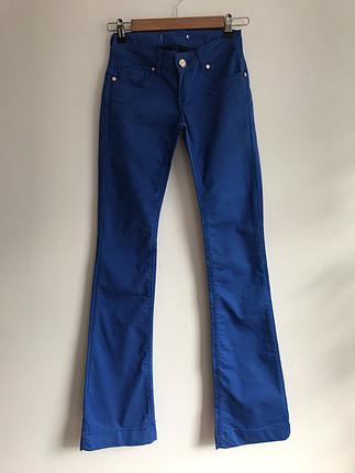 Mavi Renk Kot Pantolon