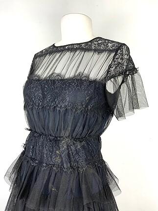 Zara Güpürlü elbise