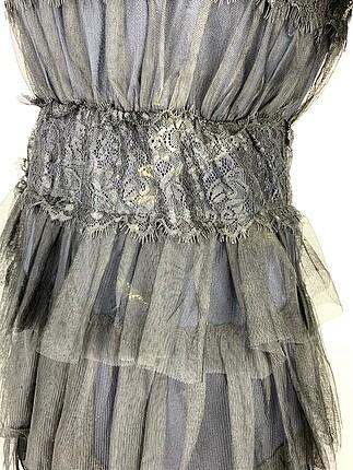 xs Beden Güpürlü elbise