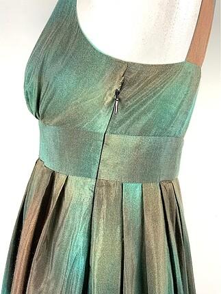 36 Beden çeşitli Renk Desenli elbise
