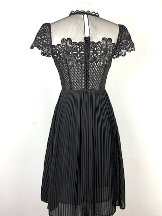 s Beden Güpürlü elbise