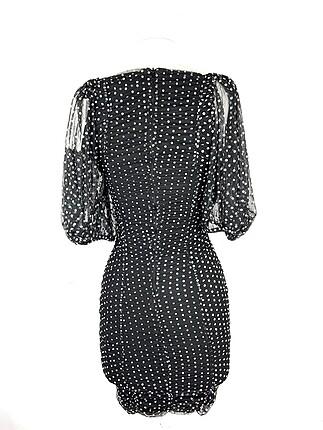 xs Beden Puantiyeli elbise