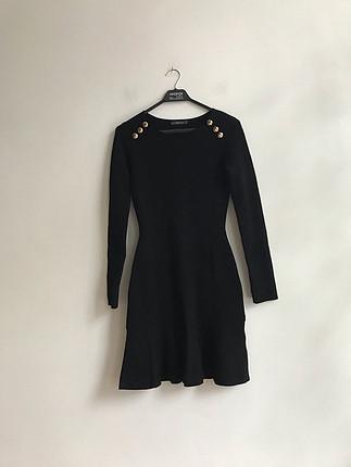 Zara siyah elbise
