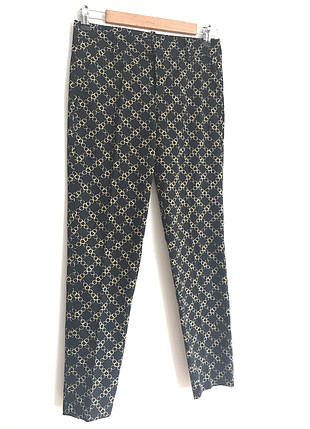 Desenli Kumaş Pantolon