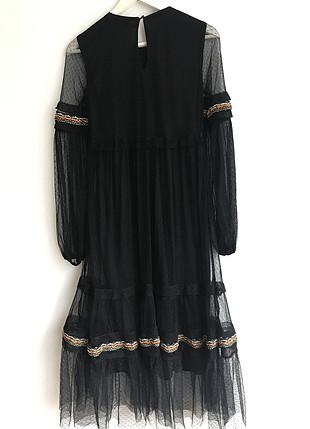 İşleme & Boncuk Detaylı Elbise