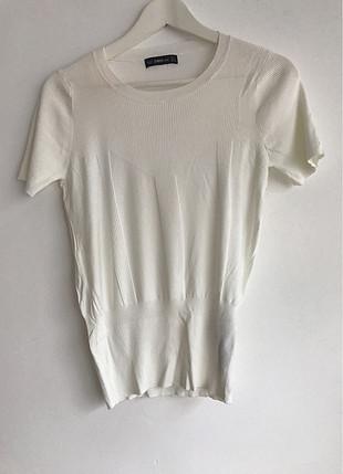 l Beden Beyaz Bluz