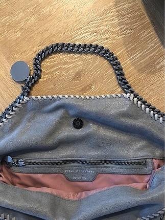 Beden gri Renk Zincir saplı çanta