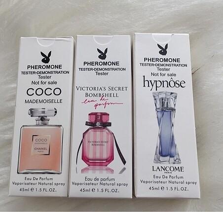 Üçlü parfüm setti