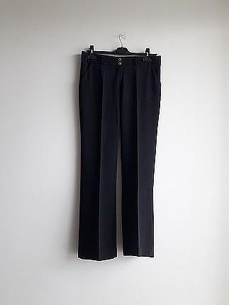 siyah pantolon yazlık kumas tril tril