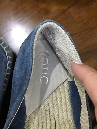 Hotiç Hotiç hasır temiz ayakkabı