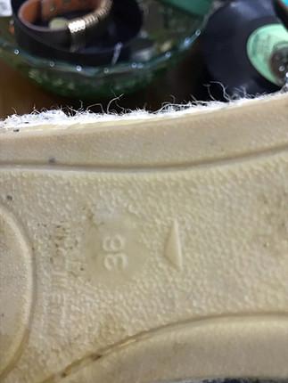 36 Beden mavi Renk Hotiç hasır temiz ayakkabı