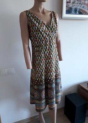 bohem tarz harika elbise