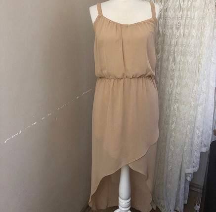Batik Bej Elbise